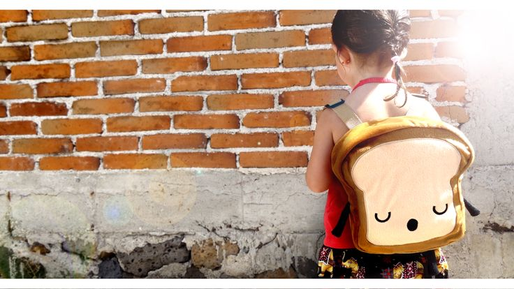 Get this backpack for your kids on Etsy!  Lovely 20x20cm Perfect for your kids! mrs. Bread Slice also available!