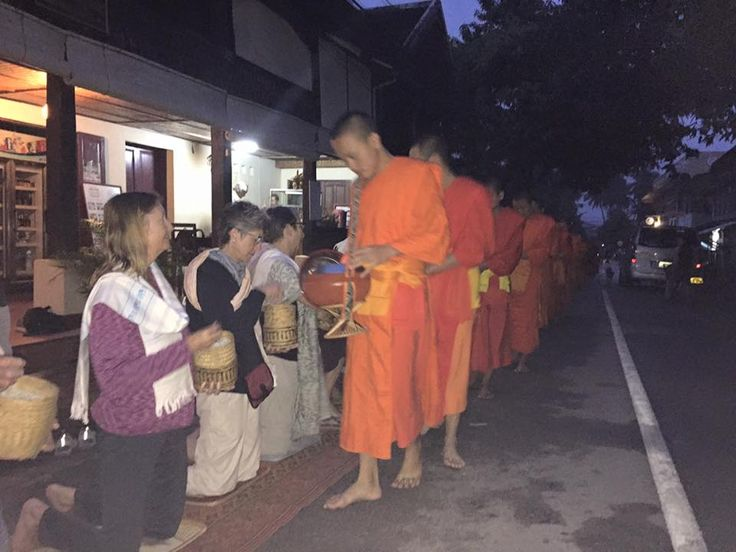 Vietnam: Early Morning Alms For The Monks