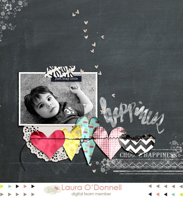 #papercraft #scrapbook #layout. LauraO'Donnell