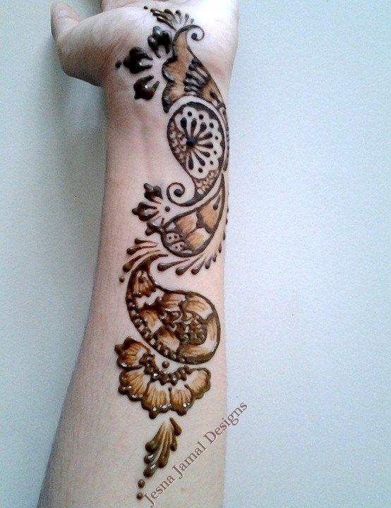 Mehndi Step By Step Tutorial : Step by easy arabic mehendi designs for beginners
