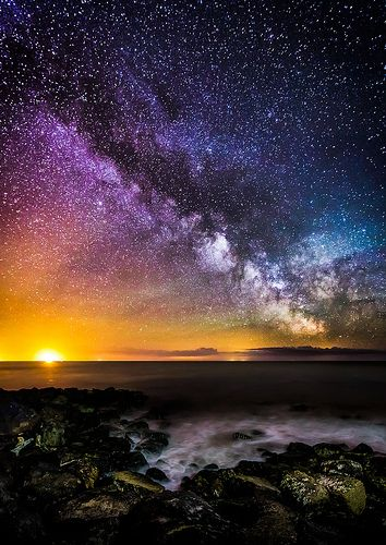 Colours Of The Milky Way.