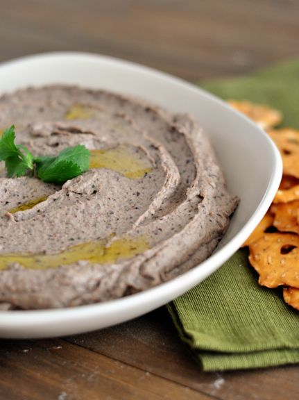 Black Bean Hummus.  This is good, even without the tahini...but I plan to make it with next time. :: SMM