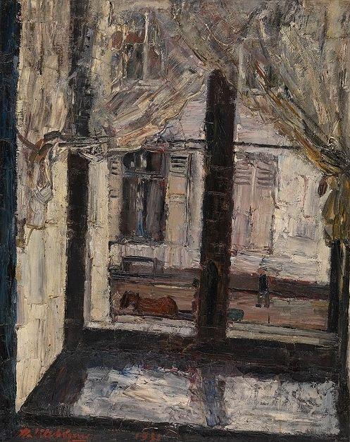 poboh:    Het venster, Henri Victor Wolvens. Belgian (1896 - 1977)