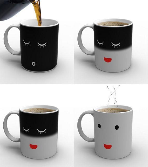 Heat sensitive mug <3