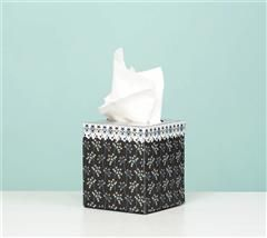 Cover your tissue box with contemporary papers!