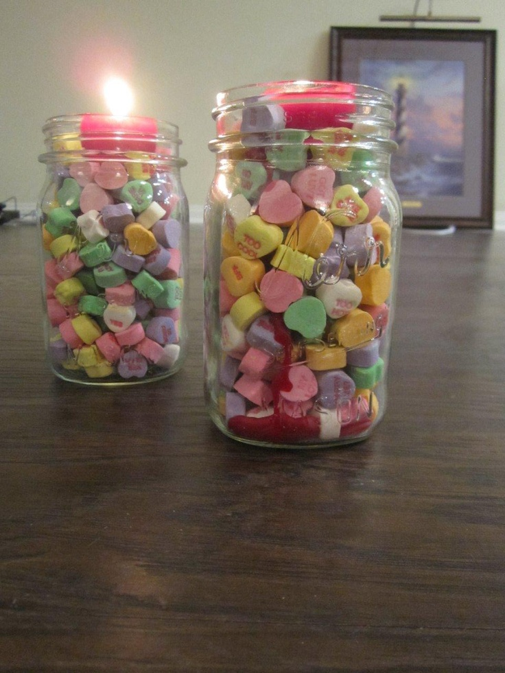 valentine 39 s day candles i filled