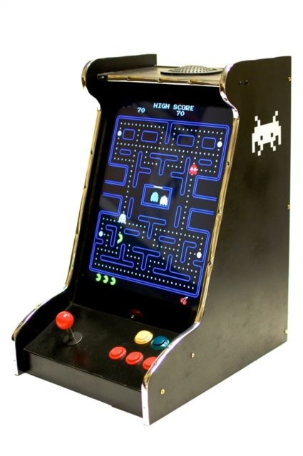 66 best arcade cabinet designs images on pinterest arcade games bar top arcade cabinet pac man in a space invaders cab malvernweather Choice Image