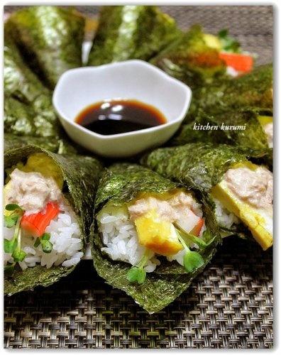 Japanese food / Temaki Zushi