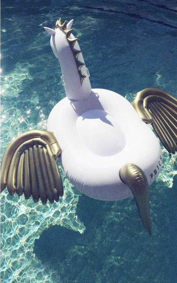 Fetch Floats - Coco lilo in white and gold
