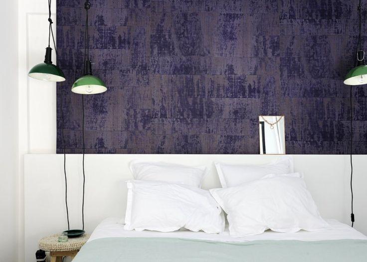 Papier peint effet velours dessin Atelier d'artiste – Elitis - Marie Claire Maison