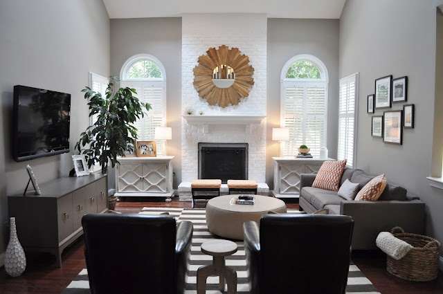 Grey Tones Living Room Pinterest