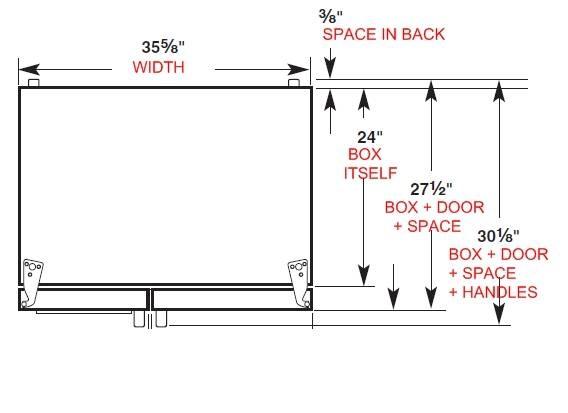 Standard Counter Depth Refrigerator