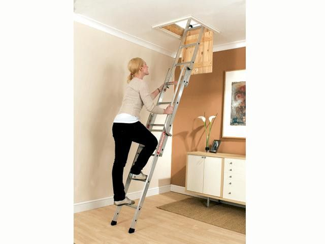 Easiway Loft Ladder - for when space is limited