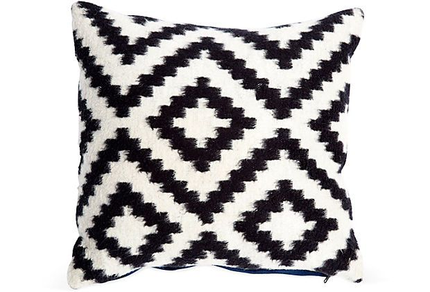 Small Black & White Pillow