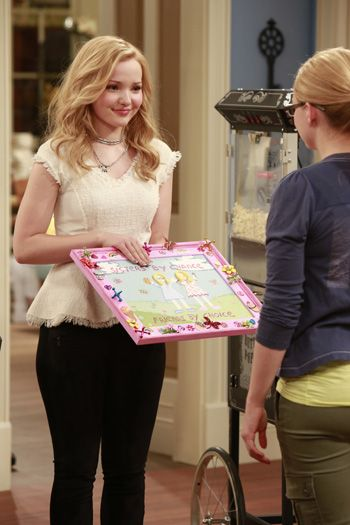 First look! Check out the new TV series Liv and Maddie, which premiers right after Teen beach Movie this Friday!