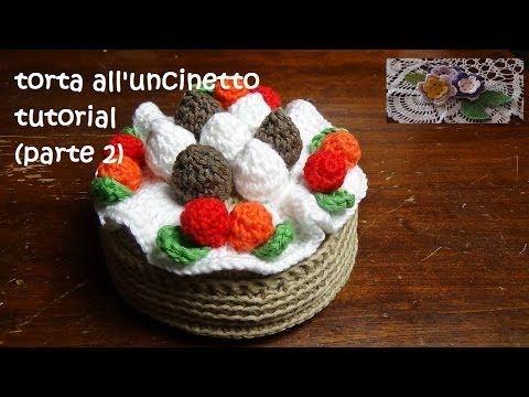 torta all'uncinetto tutorial (parte 1) - YouTube
