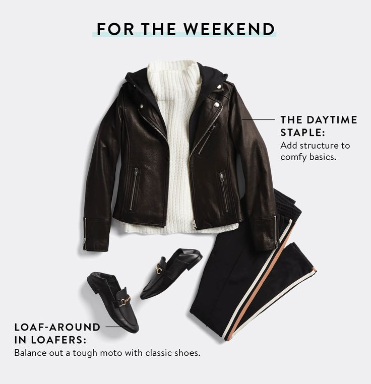 How to Style a Moto Jacket