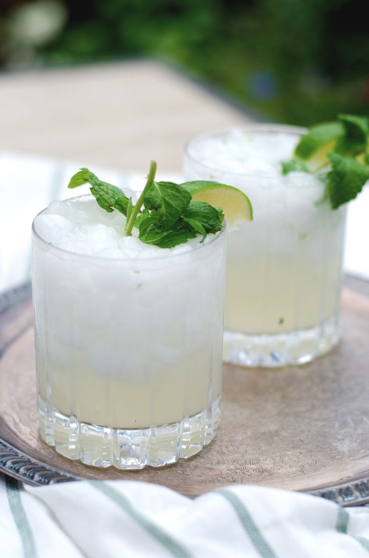 A cold, citrus gin mojito is the perfect cocktail for a warm summer night.