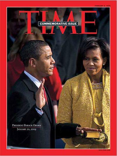 TIME Magazine Cover: Commemorative Issue: President Barack Obama - Feb. 2, 2009 - Barack Obama - U.S. Presidents