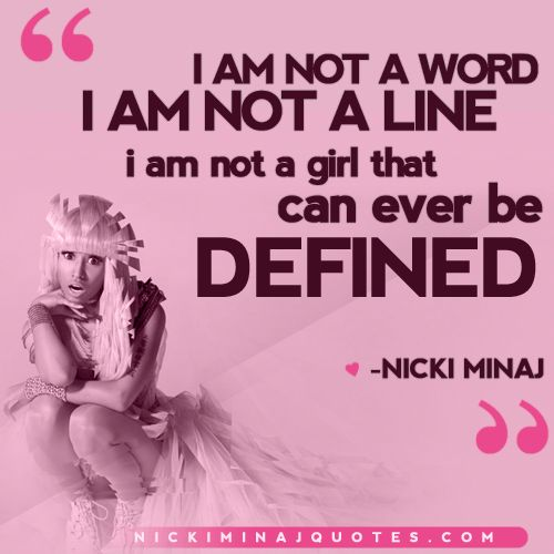 Nicki Minaj Quotes About Relationships: 41 Best Nicki Minaj Xxx :) Images On Pinterest