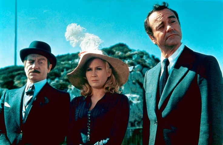 Billy Wilder's Avanti! (1972)  L to R: Clive Revill, Juliet Mills, Jack Lemmon