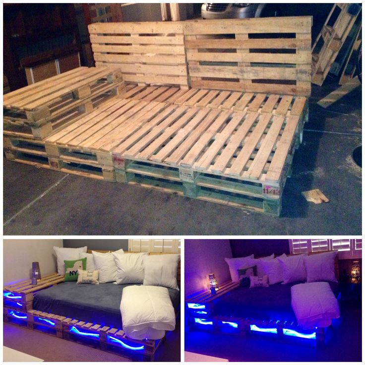 New addition to my home…pallet full size bed in 2020