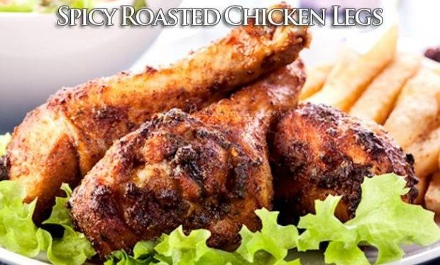 Spicy Roasted Chicken Legs - HowToInstructions.Us
