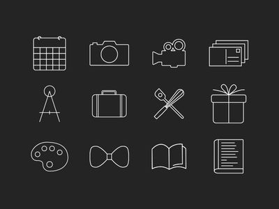 Beautiful Semiotic Icons