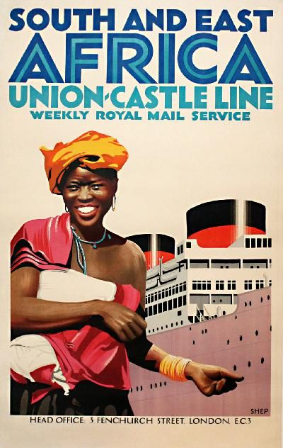 Poster: Union Castle Line - South and East Africa Artist: Charles Shepherd