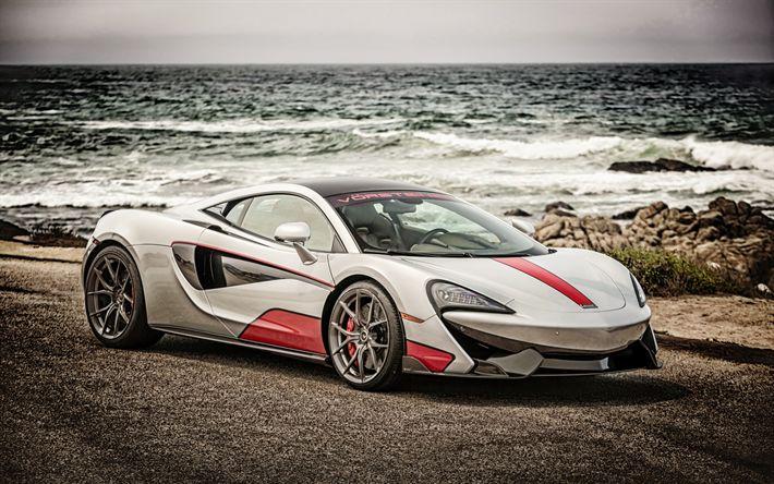 Download wallpapers Mclaren 570-VX, 2017, Vorsteiner, supercar, tuning Mclaren, racing cars, British sports cars, Mclaren