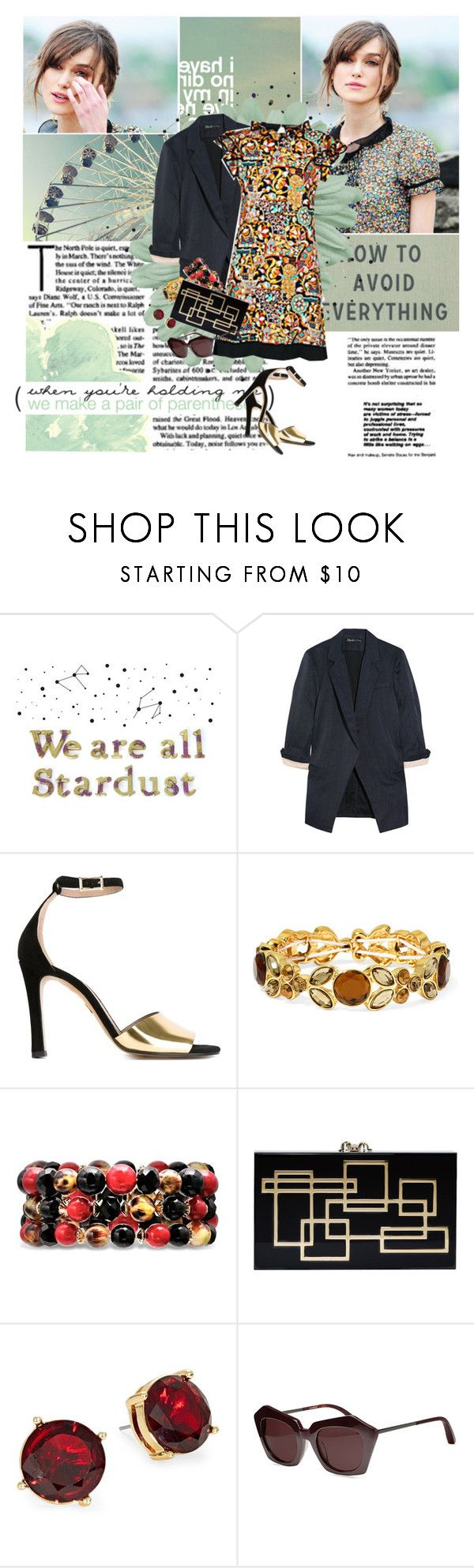 """""""Do something crazy with me"""" by winfreda ❤ liked on Polyvore featuring WALL, Elizabeth and James, Louis Vuitton, Chloé, Liz Claiborne, Charlotte Olympia and Lauren Ralph Lauren"""