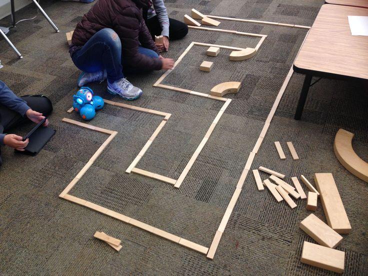 1st-5th Grade Robots & Maze Design in STEM: Science, Technology, Engineering, Math (via Barron Park Maker Studio)