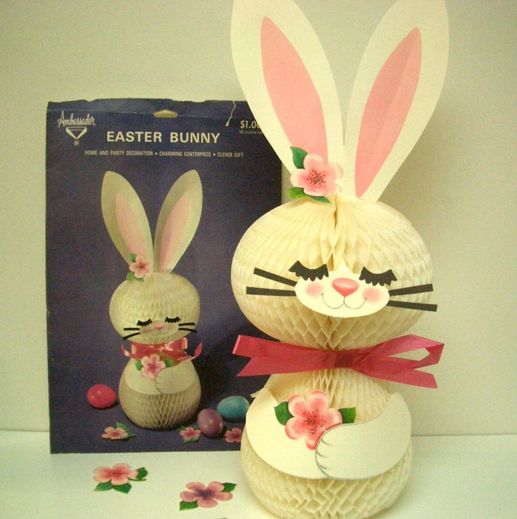 Image Detail For Vintage Easter Bunny Centerpiece By REdesignkc On Etsy