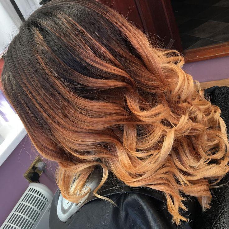 1000 ideas about caramel ombre hair on pinterest caramel ombre ombre hair color and ombre hair - Ombre hair marron caramel ...