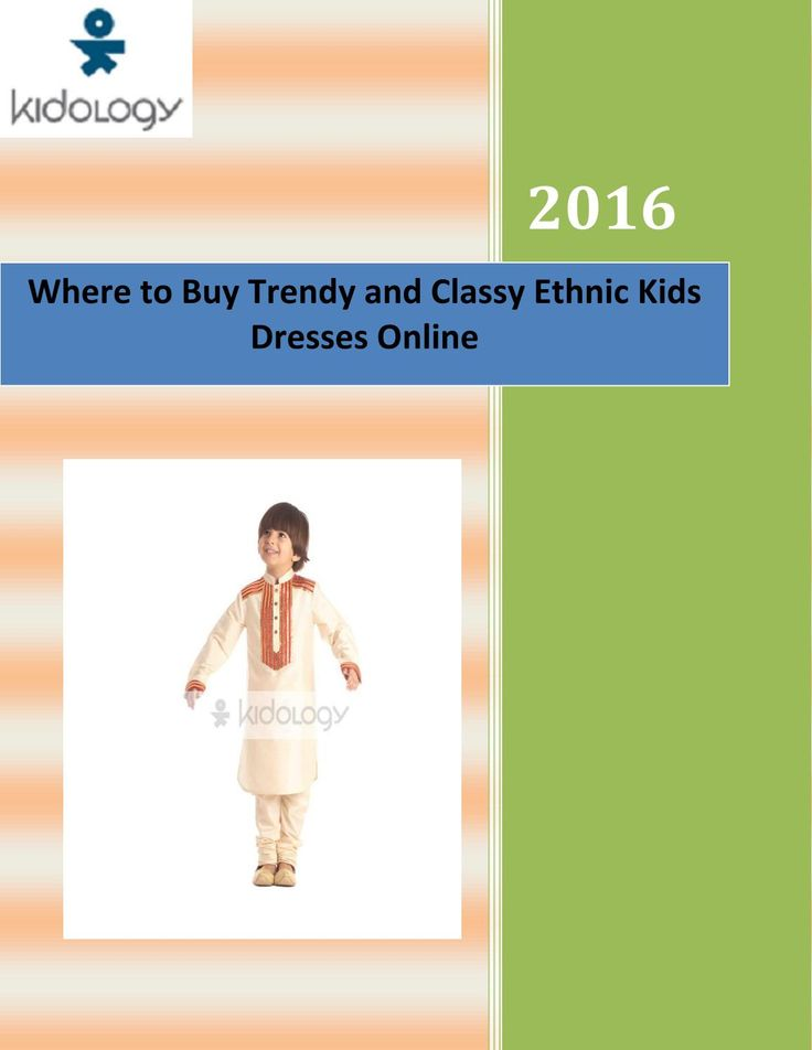 Options for ethnic wear for boys are no less. If you want to buy party dresses for cute little boys, there are a variety of dresses that you can choose from.