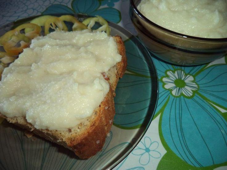 Pasta de conopida cu usturoi recipe