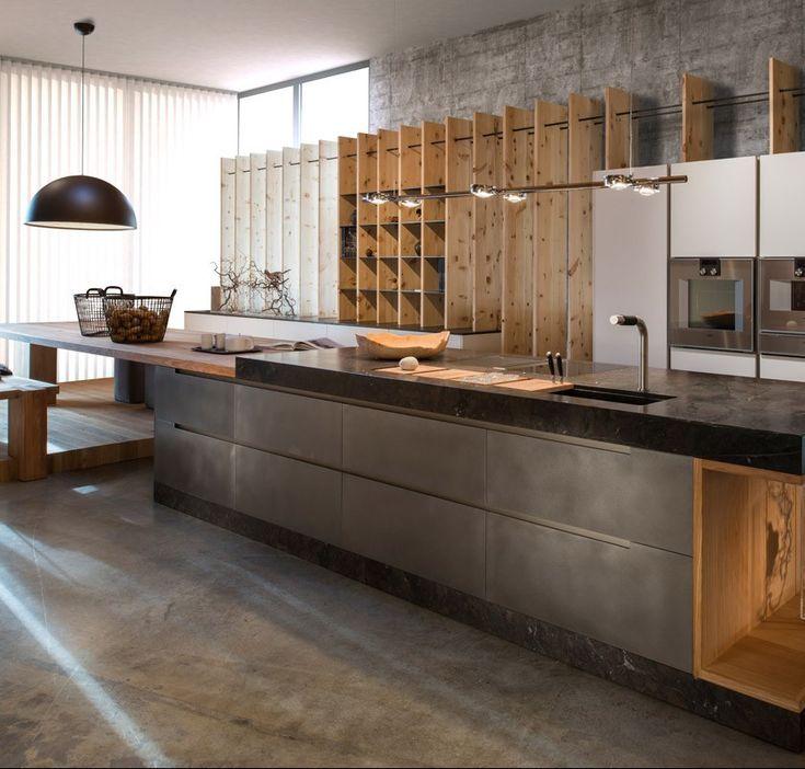 Werkhaus Kuchenideen Exklusive Kuchen Und Schreinerkuchen Im Werkhaus Rosenh Kitchen Inspiration Modern Kitchen Inspirations Concrete Kitchen