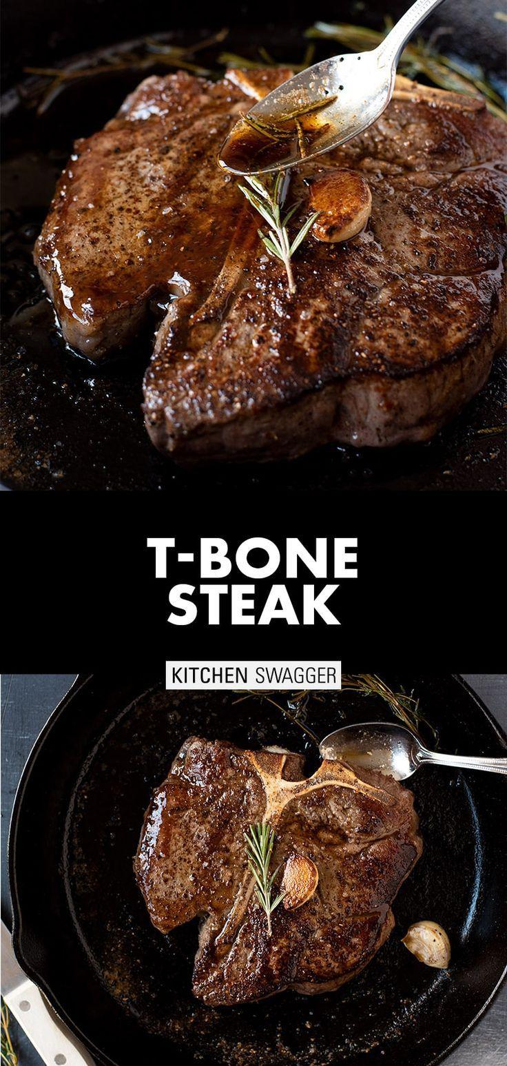 T-Bone Steak with Garlic and Rosemary | Recipe in 2020 | Recipes, T bone  steak, Tbone steak recipe