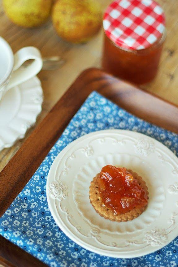 Cinco Quartos de Laranja: Compota de melão e pêra