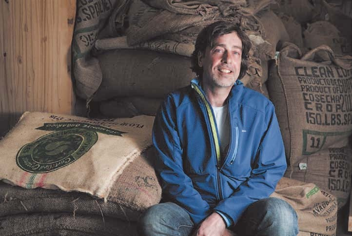 Michael King - Bean North Coffee Roasting Company Ltd.  (photo: garybremner.com)