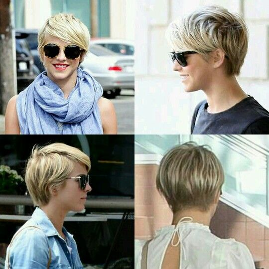 Julianne Hough pixie haircut-short hair-blond-cute-hairstyle-all sides
