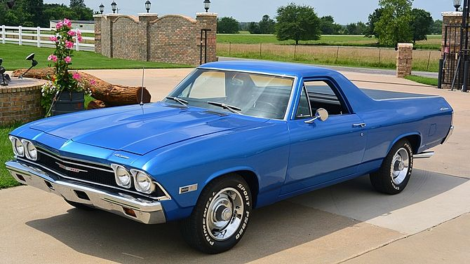 1968 Chevrolet El Camino 350 Maintenance/restoration of old/vintage vehicles: the material for new cogs/casters/gears/pads could be cast polyamide which I (Cast polyamide) can produce. My contact: tatjana.alic@windowslive.com