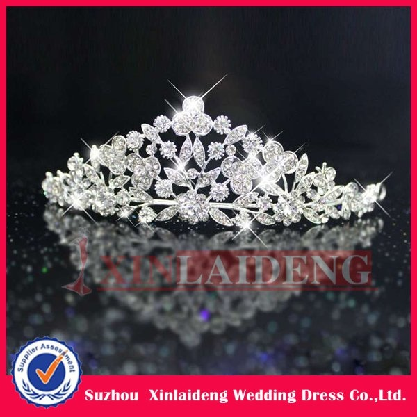 WAC003 (in stock) delicate royal crown wedding crown bride crown tiaras-in Hair Jewelry from Jewelry on Aliexpress.com