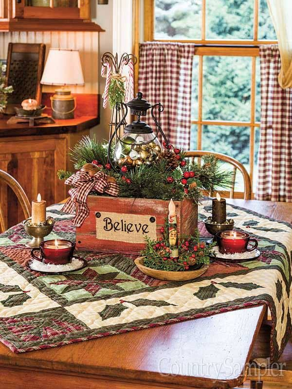 Pin by Darlene Cook on Country Christmas  Primitive christmas Country christmas decorations