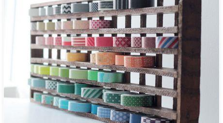 Storage washi tape