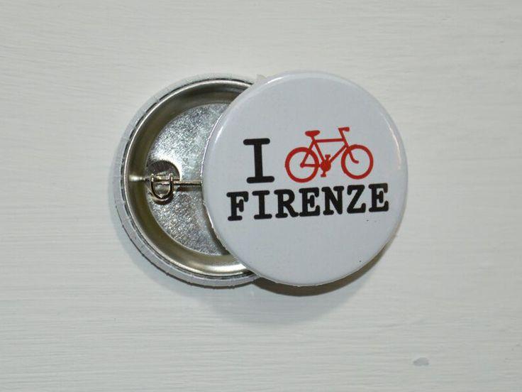 Spilla bici Firenze Florence pins