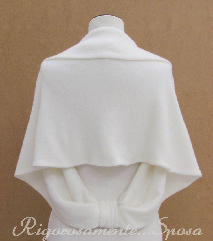 Rigorosamente...Sposa: Coprispalle sposa in maglia