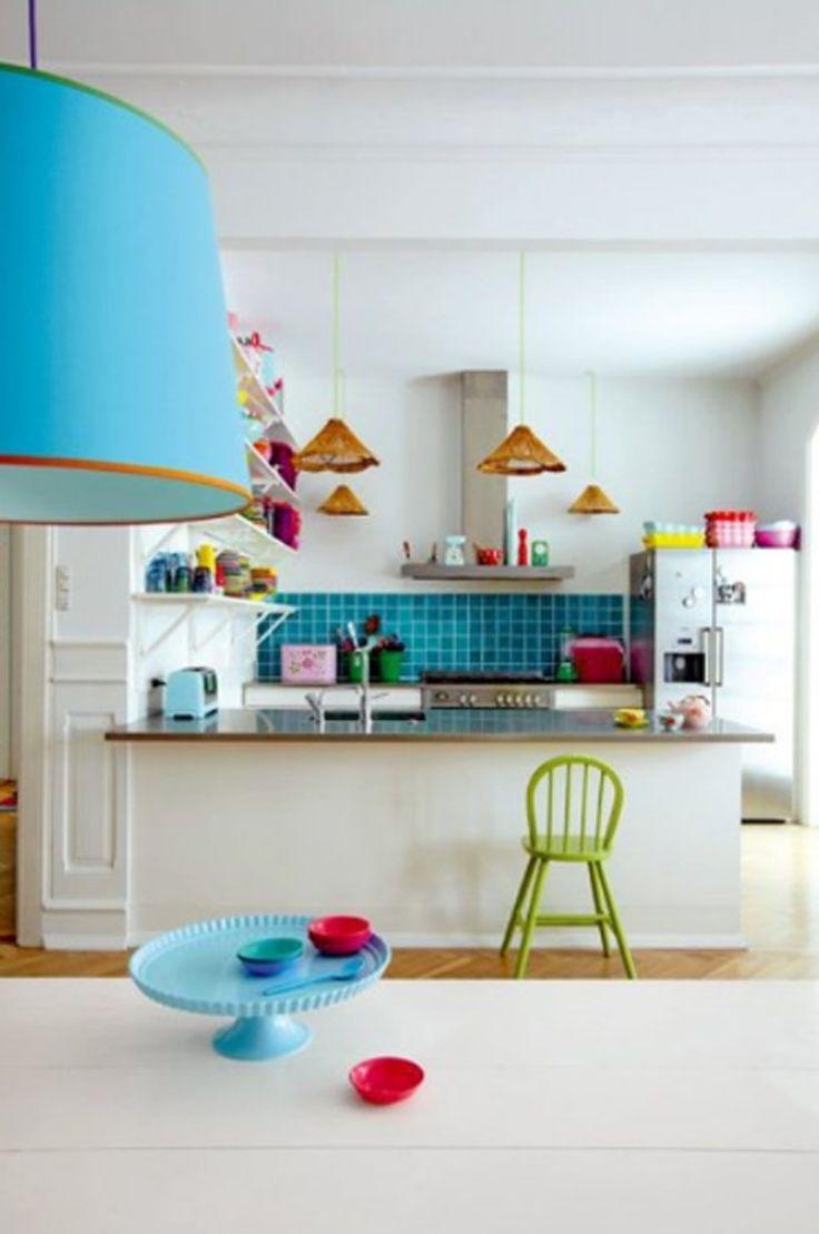 95 best colorful kitchen keukens images on pinterest dream