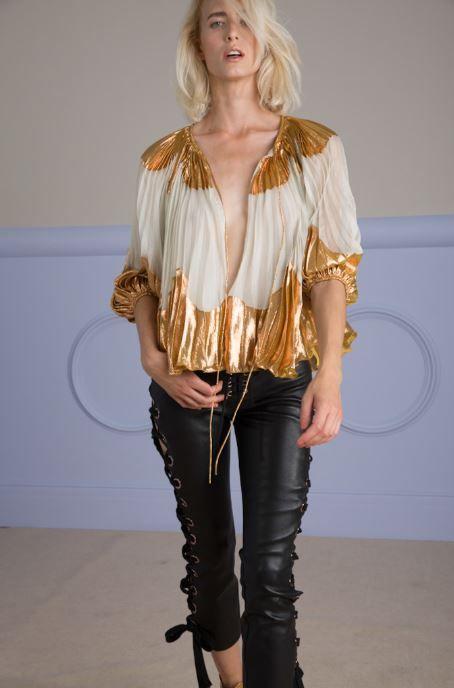 NIDRI blouse and LISA pants