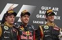 Race #4 Bahrain - Sebastian Vettel is back to his winning ways. (you gotta love having Lotus P2 and 3!)
